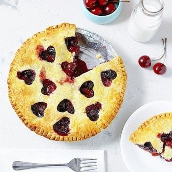 Grain-Free Cherry Pie .  Free tutorial with pictures on how to bake a berry pie in under 60 minutes using almond flour, salt, and butter. Inspired by gluten free. Recipe posted by Lila Ruth Grain Free.  in the Recipes section Difficulty: 3/5. Cost: 3/5. Steps: 8