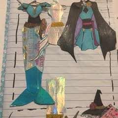 Wardrobe Scrapbook Page