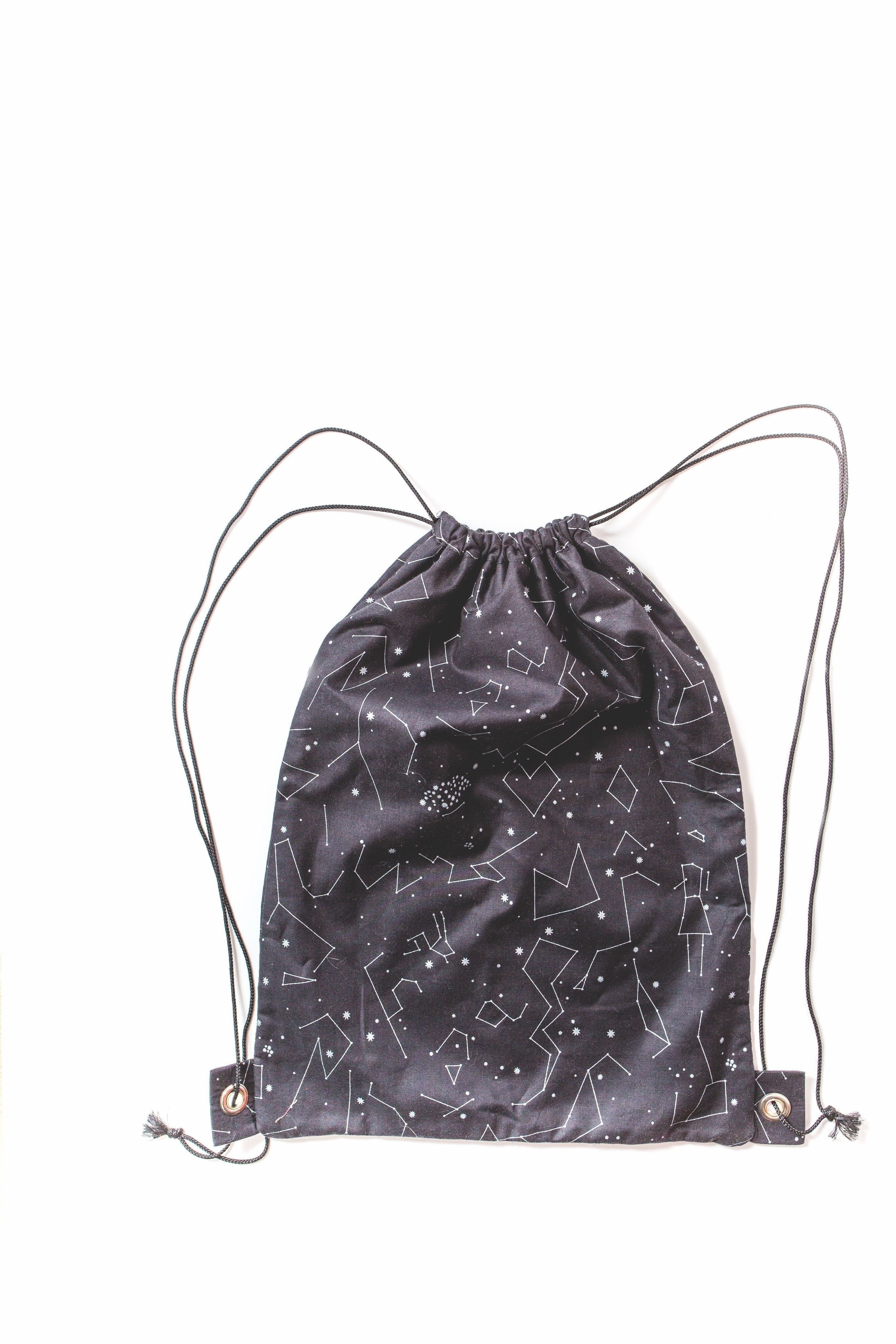 Drawstring Backpack Extract From Hack That Tote By Mary Abreu How To Make A Backpack