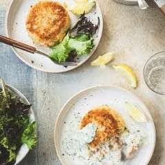 Fishcakes With Parsley Sauce