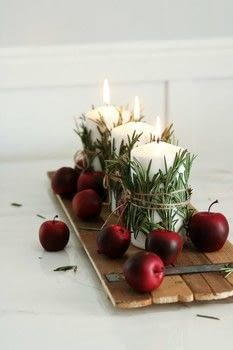 Make this Holiday table setting in 10 Minutes!  .  Free tutorial with pictures on how to make a candle in under 10 minutes by making beauty products with elastic band, rosemary, and twine. Inspired by christmas. How To posted by Lily O.  in the Home + DIY section Difficulty: Easy. Cost: 3/5. Steps: 3