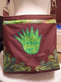 I love making ween purses for ween fans .  Make an across body bag using embroidery machine. Creation posted by Diver.  in the Sewing section Difficulty: 5/5. Cost: 5/5.