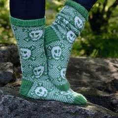 Merry Skull Socks