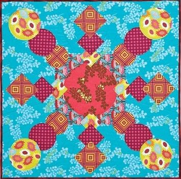 Super simple quilts .  Free tutorial with pictures on how to make a patchwork quilt in 12 steps by sewing and patchworking with fabric and sewing machine. How To posted by Search Press.  in the Sewing section Difficulty: 4/5. Cost: 3/5.