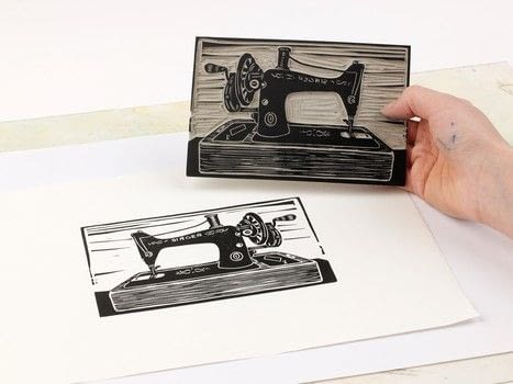 Learn how to turn a photograph into a linocut .  Free tutorial with pictures on how to use a printing techniques in under 60 minutes by printing with  photograph, lino , and linocutting tools. How To posted by Search Press.  in the Art section Difficulty: 3/5. Cost: 3/5. Steps: 12