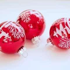 Homemade Christmas Baubles
