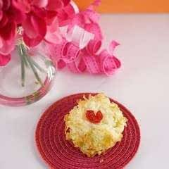 Valentine's Day Coconut Macaroons