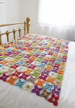 Crochet Learn It. Love It. .  Free tutorial with pictures on how to stitch a knit or crochet blanket in 3 steps by crocheting with wool yarn, crochet hooks, and yarn needle. Inspired by flowers. How To posted by Search Press.  in the Yarncraft section Difficulty: 3/5. Cost: 3/5.