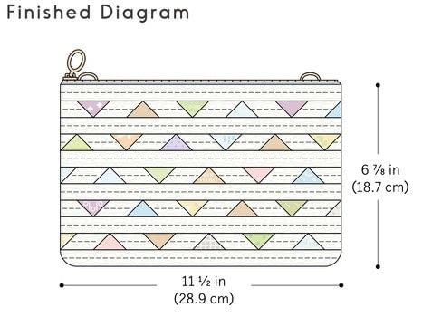 Sew Beautiful Quilted Bags .  Free tutorial with pictures on how to sew a patchwork clutch in 10 steps by sewing and patchworking with fabrics, print fabric , and lining fabric. How To posted by Search Press.  in the Sewing section Difficulty: 3/5. Cost: 3/5.