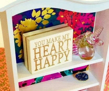Creating a beautiful life, one craft at a time.  .  Free tutorial with pictures on how to make a wall shelf in under 120 minutes by decorating with scissors, paint brush, and decoupage glue. How To posted by Holly L.  in the Decorating section Difficulty: Simple. Cost: No cost. Steps: 7
