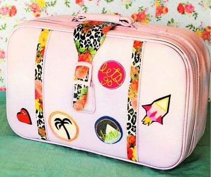 Creating a beautiful life, one craft at a time.  .  Free tutorial with pictures on how to make a suitcase / trunk in 7 steps by decorating with suitcase, decoupage paper, and decoupage glue. How To posted by Holly L.  in the Decorating section Difficulty: Simple. Cost: No cost.