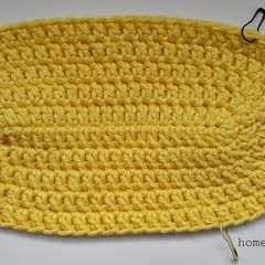 How To Crochet An Oval Shape