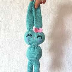 Cute Knitted Bunny Babytoy