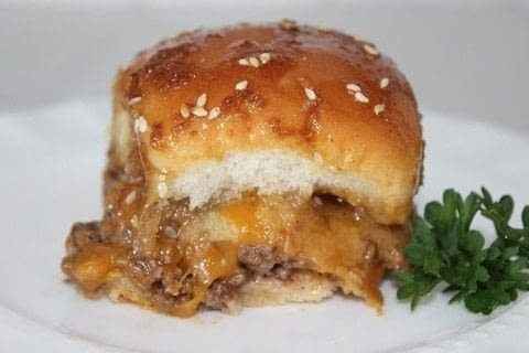 A Delicious Slider Sandwich recipe to serve a crowd .  Free tutorial with pictures on how to cook a beef burger in under 60 minutes by cooking with ground beef, salt, and pepper. Inspired by party food and meat. Recipe posted by Andrea N.  in the Recipes section Difficulty: Easy. Cost: 3/5. Steps: 4