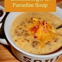Cheeseburger In Paradise Soup