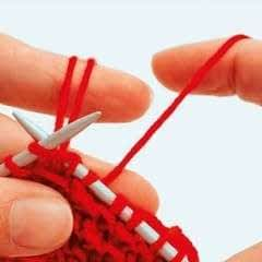 How To Knit Loops