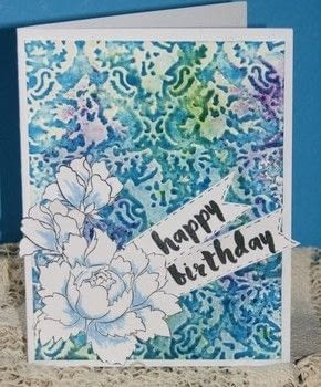 Combine pigment powders and embossing folders for a fun, unique card every time! .  Free tutorial with pictures on how to emboss an embossed card in under 30 minutes by papercrafting, cardmaking, and stamping with water, cardstock, and stampers. How To posted by Ink Stained Roni.  in the Papercraft section Difficulty: Easy. Cost: 3/5. Steps: 5