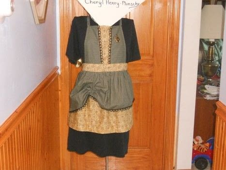 Redesigned an apron with a Steampunk flair .  Make an apron / toolbelt in under 120 minutes by sewing Creation posted by Cheryl H.  in the Sewing section Difficulty: Easy. Cost: 3/5.