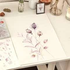Watercolour Dried Flowers