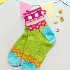 Leftover Party Socks