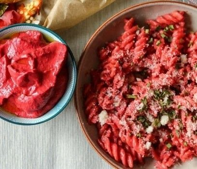 Pepper and beets pasta sauce .  Free tutorial with pictures on how to cook pasta in under 40 minutes by cooking with tomatoes, oils, and onion. Inspired by party food, kids, and food. Recipe posted by Frombowltosoul.  in the Recipes section Difficulty: 3/5. Cost: No cost. Steps: 5