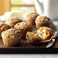 Homemade Pumpkin & Apple Muffins