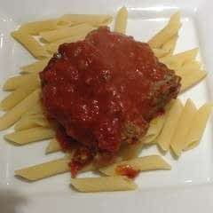Beef Meatloaf with Tomato Gravy