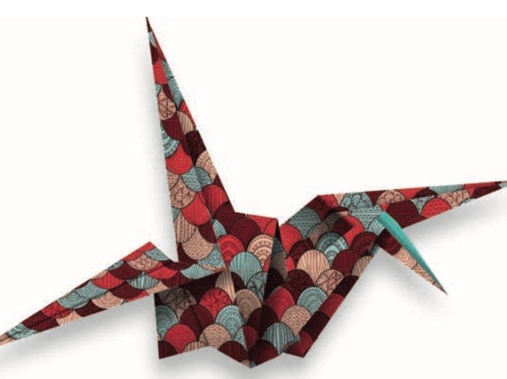 Easy Origami Crane Instructions | 740x990