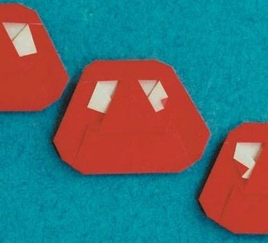 Origami Activities for Kids .  Free tutorial with pictures on how to fold an origami character in under 15 minutes by paper folding with origami paper. Inspired by japanese. How To posted by Tuttle Publishing.  in the Papercraft section Difficulty: Simple. Cost: Cheap. Steps: 12