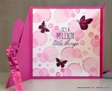 Prevent a card from being too bulky! .  Free tutorial with pictures on how to make a greetings card in under 60 minutes by papercrafting and cardmaking with card. How To posted by Jan B.  in the Papercraft section Difficulty: Simple. Cost: 3/5. Steps: 1