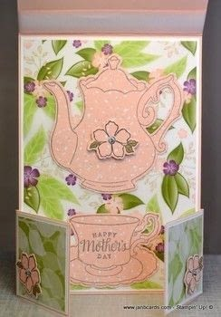 Create a Dutch Door card that is freestanding. .  Free tutorial with pictures on how to make a greetings card in under 60 minutes by cardmaking with card. How To posted by Jan B.  in the Papercraft section Difficulty: Simple. Cost: 3/5. Steps: 1