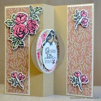 Create a flip (flap) card with partial die-cutting!  .  Free tutorial with pictures on how to make a greetings card in under 45 minutes by papercrafting and cardmaking with card. How To posted by Jan B.  in the Papercraft section Difficulty: Simple. Cost: 3/5. Steps: 1