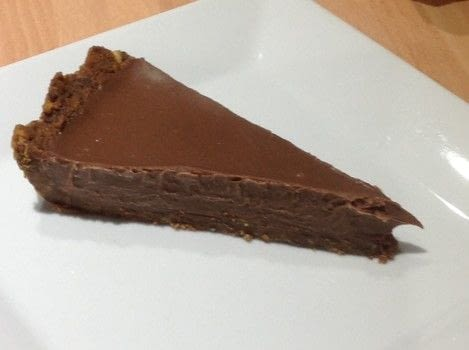 Chocolate Tart. .  Free tutorial with pictures on how to bake a chocolate tart in under 20 minutes by cooking with biscuits, butter, and heavy cream. Recipe posted by Super Madcow.  in the Recipes section Difficulty: Easy. Cost: Cheap. Steps: 6