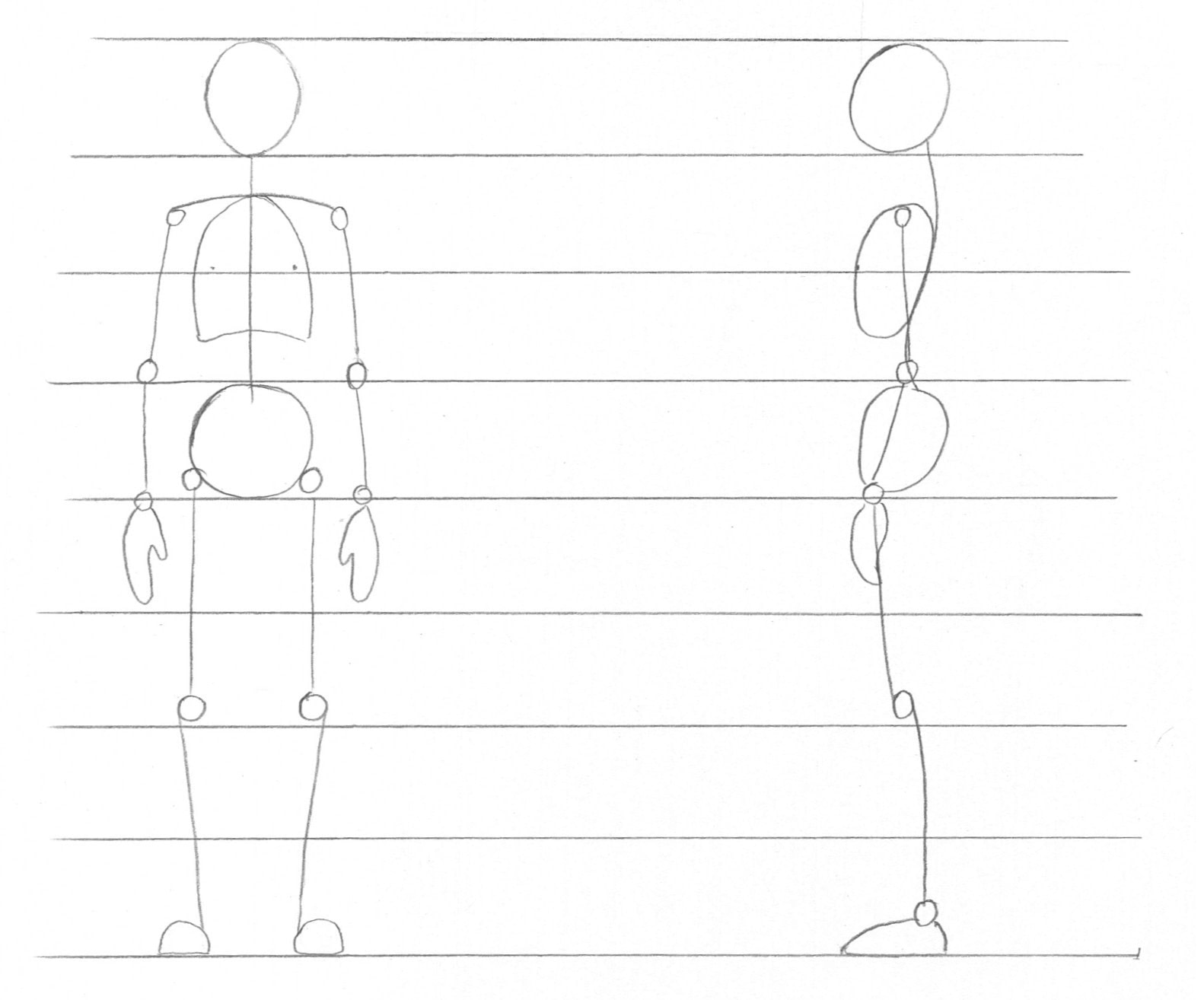 How To Draw The Body 183 Extract From Drawing Is Easy By