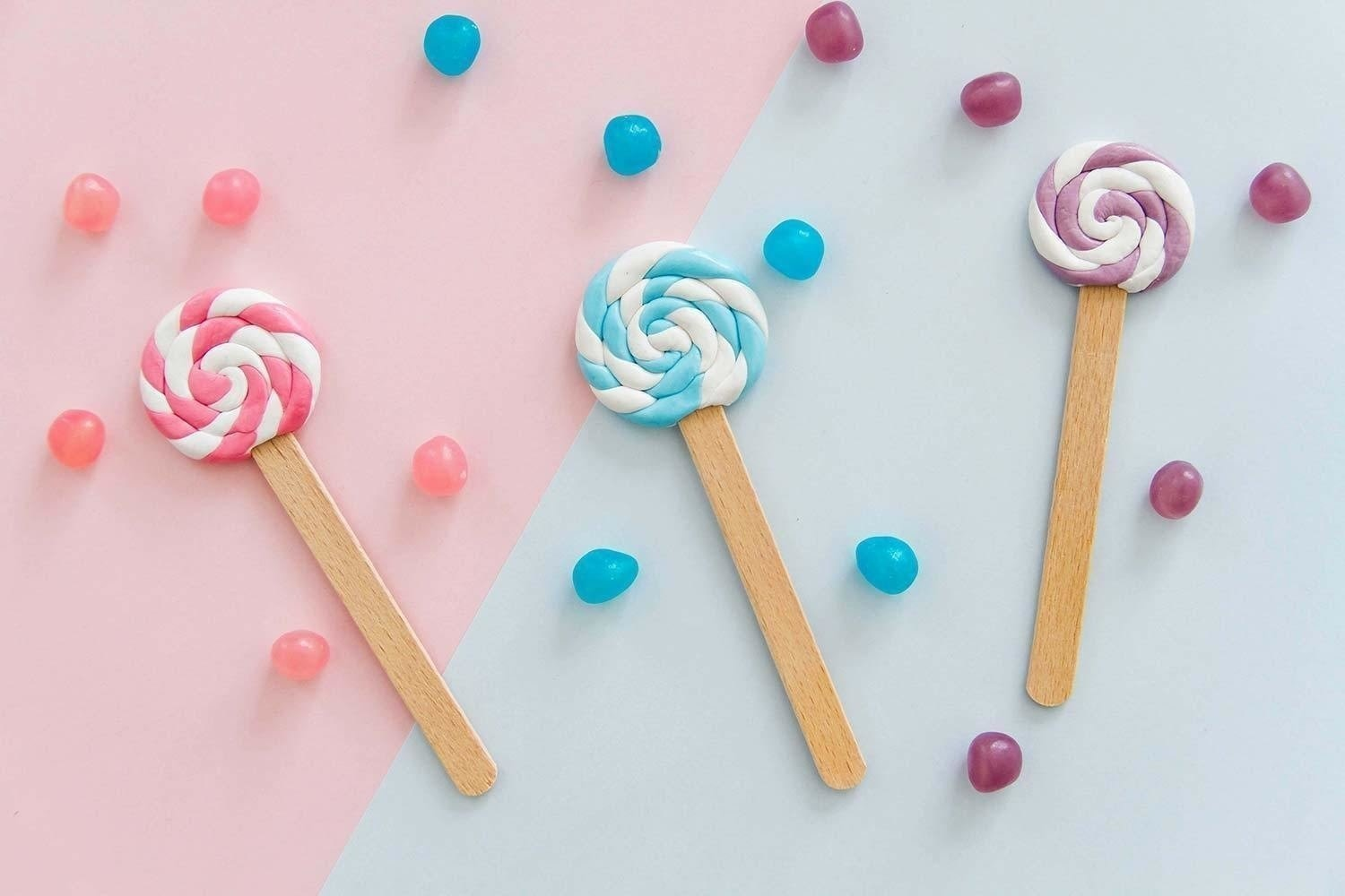 Lollipop bookmarks · How To Mold A Clay Bookmark · Home +