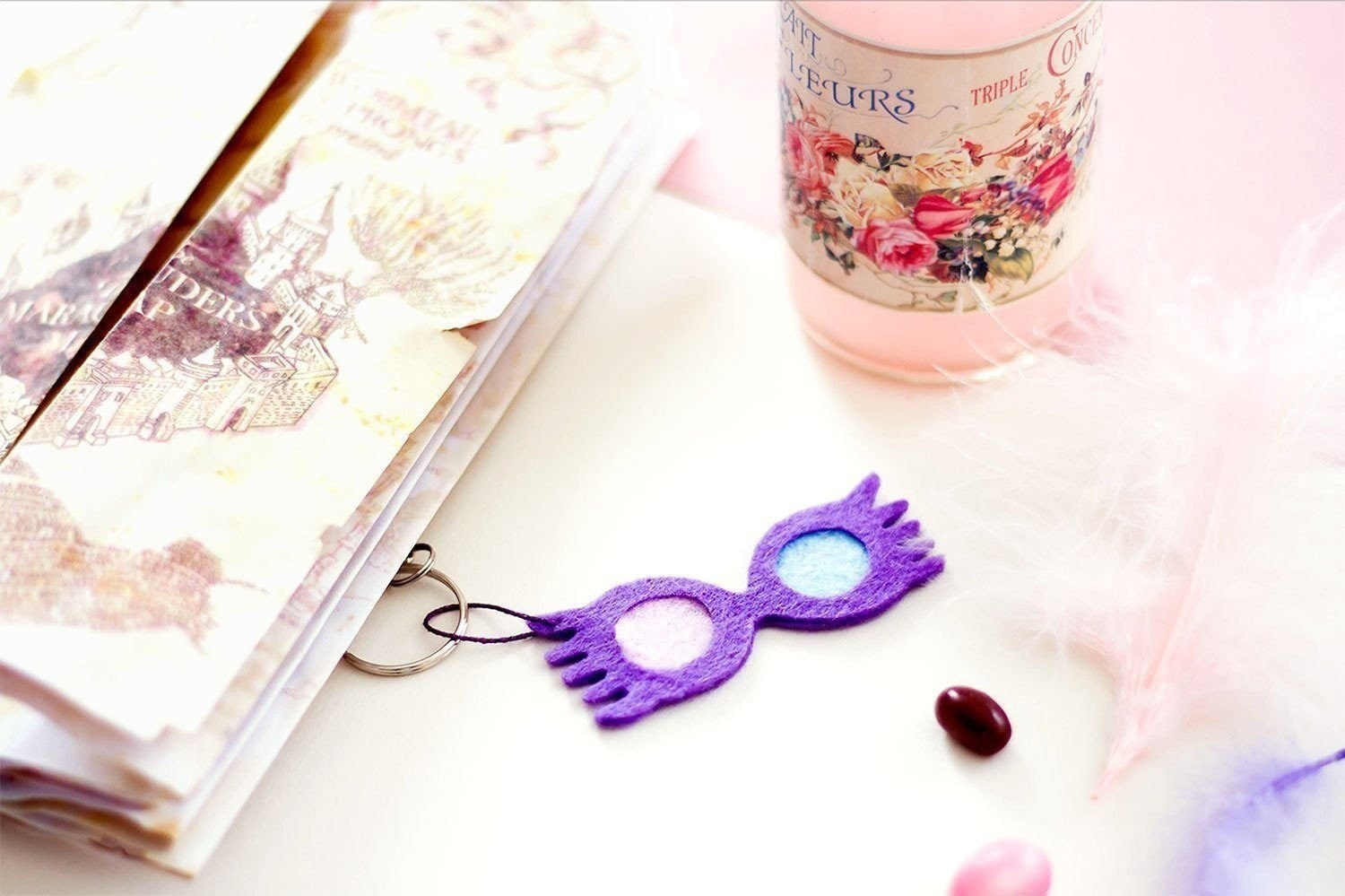 Key Ring Luna Lovegood How To Sew A Fabric Charm Home Diy On Cut Out Keep