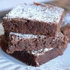 Grandma's Easy One Bowl Brownies