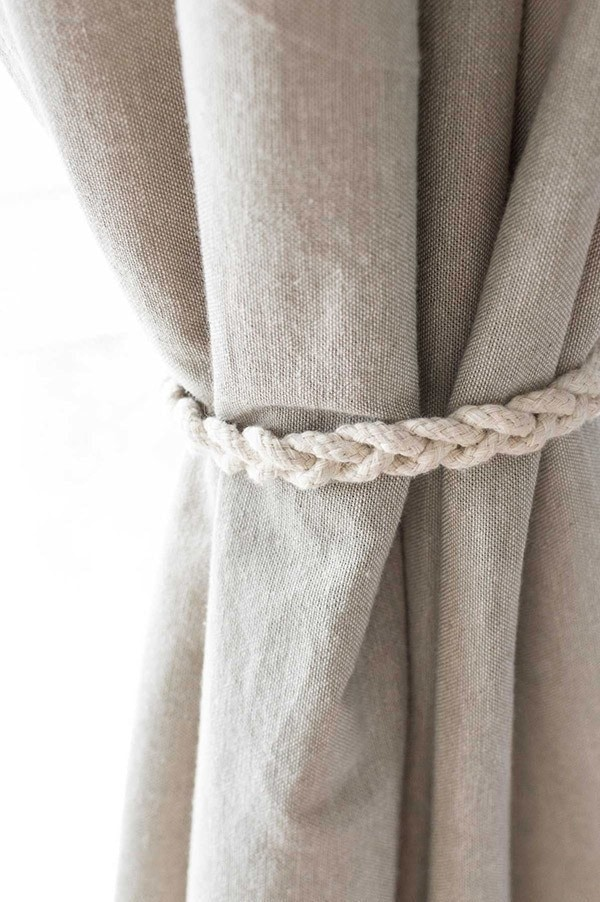 Quick Amp Easy No Sew Braided Curtain Tiebacks 183 How To Make