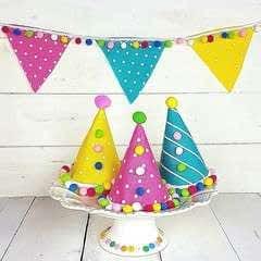 Polka Dot Party Hats!