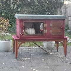 Scrap Material Bunny Home