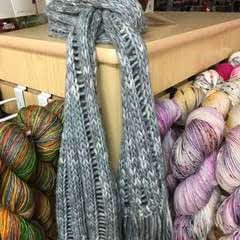 Dropped Stitches Scarf
