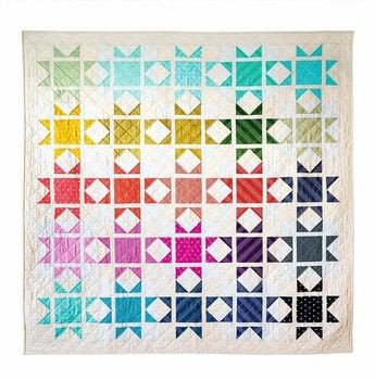 Quick & Easy Quilts .  Free tutorial with pictures on how to make a patchwork quilt in 5 steps by sewing and patchworking with fabrics, fabric, and fabric. Inspired by stars. How To posted by Tuttle Publishing.  in the Sewing section Difficulty: 3/5. Cost: 3/5.