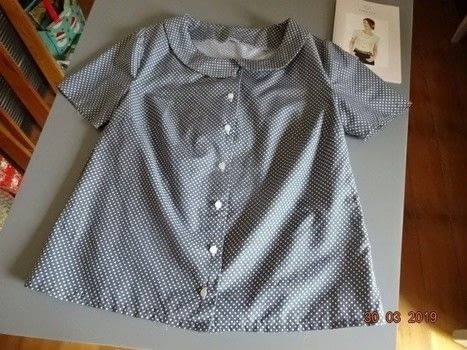 Peter Pan .  Make a collared top in under 180 minutes by sewing with cotton fabric. Creation posted by Madeline.  in the Sewing section Difficulty: Simple. Cost: 3/5.