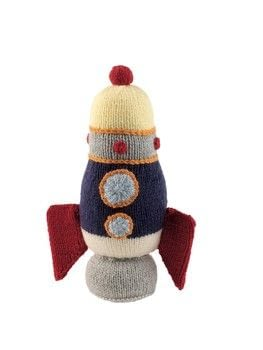 Mini Knitted Cosmos .  Free tutorial with pictures on how to make a rocket plushie in 8 steps by knitting with yarn, yarn, and yarn. Inspired by space. How To posted by Search Press.  in the Yarncraft section Difficulty: 3/5. Cost: Cheap.