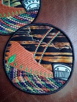 I love making patches .  Embroider  in under 60 minutes using embroidery machine. Creation posted by Laurel Bayleaf.  in the Sewing section Difficulty: 5/5. Cost: 5/5.