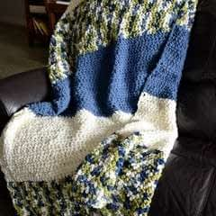 Easy Crochet Blanket For Beginners