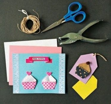 Super Cute Origami .  Free tutorial with pictures on how to fold an origami food in under 15 minutes by papercrafting and paper folding with origami paper. Inspired by cupcakes. How To posted by Tuttle Publishing.  in the Papercraft section Difficulty: Simple. Cost: Cheap. Steps: 16