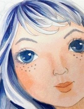 Adding details with Copic Multilines adds to portraits .  Free tutorial with pictures on how to create a portrait in under 60 minutes by creating with copic marker, copic multiliner, and cardstock. How To posted by Michelle H.  in the Art section Difficulty: 3/5. Cost: 4/5. Steps: 1