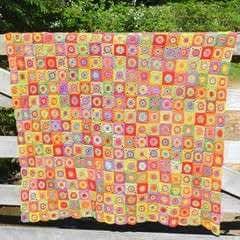 Cornucopia Crochet Blanket