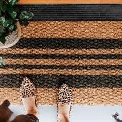 Diy Spray Painted Doormat